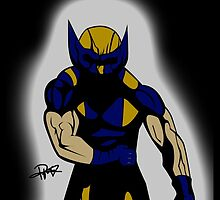 Wolverine Pose by PMckennaDesigns
