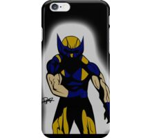 Wolverine Pose iPhone Case/Skin