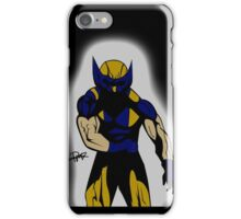 Wolverine Pose iPhone Case/Skin
