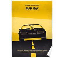 No051 My Mad Max minimal movie poster Poster