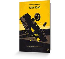 No051 My Mad Max 4 Fury Road minimal movie poster Greeting Card