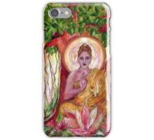 Ficus Religiosa iPhone Case/Skin