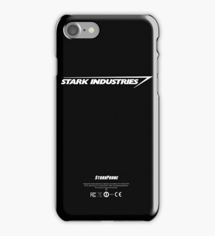 Stark Phone by Stark Industries iPhone Case/Skin