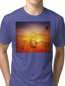 surreal adventure Tri-blend T-Shirt