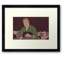 Jim Has Plenty of Tribbles Framed Print