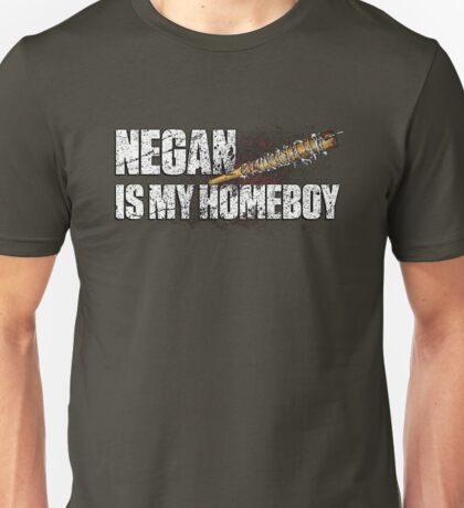 NEGAN IS MY HOMEBOY / bloody barbed wire baseball bat Unisex T-Shirt