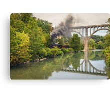 Steam in The Valley - CVNP Canvas Print