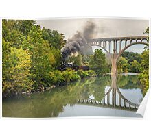 Steam in The Valley - CVNP Poster