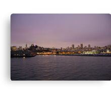 San Fran Skyline Canvas Print