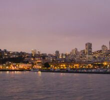 San Fran Skyline Sticker