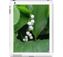 Fragrant lily of the valley iPad Case/Skin