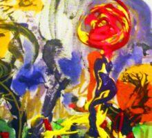Despondent Roses By Darryl Kravitz Sticker