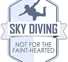 Sky Diving, Not For The Faint-hearted by papabuju