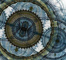 Blue machine by MartinCapek