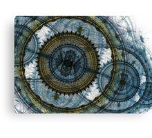 Blue machine Canvas Print