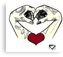 loving ink Canvas Print