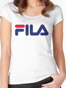 FILA Women's Fitted Scoop T-Shirt