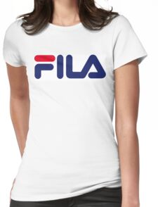 FILA Womens Fitted T-Shirt