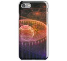 Colorful fantasy landscape iPhone Case/Skin