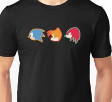 Official Sonic Mania Triple Threat T-Shirt (limited edition) !!! Unisex T-Shirt