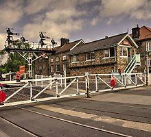 Railway Tavern Grosmont  by Rob Hawkins
