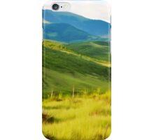 Green hills iPhone Case/Skin