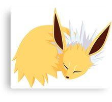 Sleeping Pokemon Canvas Print