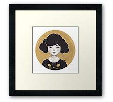 Kitty Girl III Framed Print