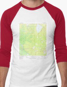 USGS TOPO Map Arkansas AR Marais Saline 259012 1981 24000 Men's Baseball ¾ T-Shirt