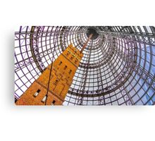 Circular Metal at Melbourne Central - Melbourne, Victoria Metal Print