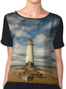 Lighthouse Point of Ayre Chiffon Top