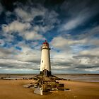 Lighthouse Point of Ayre by Adrian Evans