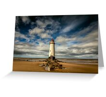 Lighthouse Point of Ayre Greeting Card