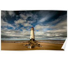Lighthouse Point of Ayre Poster