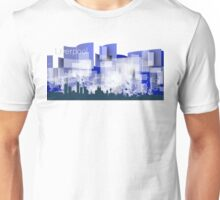 Liverpool blue skyline Unisex T-Shirt