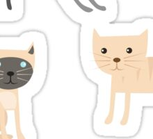 Cute Kittens Collection // Hand Drawn Illustrations Sticker