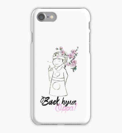 Baekhyun oppa! iPhone Case/Skin