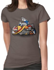 Anime Shonen & Monsters Womens Fitted T-Shirt