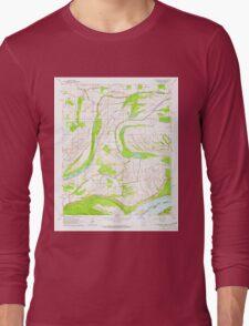 USGS TOPO Map Arkansas AR Friars Point NW 258525 1964 24000 Long Sleeve T-Shirt