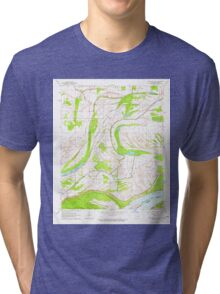 USGS TOPO Map Arkansas AR Friars Point NW 258525 1964 24000 Tri-blend T-Shirt