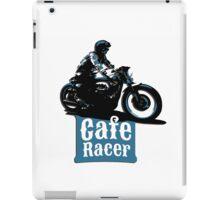 Cafe Racer - racing vintage motorcycle iPad Case/Skin