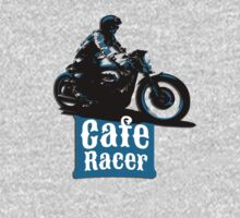 Cafe Racer - racing vintage motorcycle by datthomas