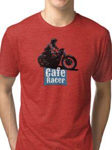 Cafe Racer - racing vintage motorcycle Tri-blend T-Shirt
