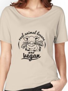 vegan Women's Relaxed Fit T-Shirt