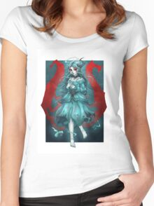 Ghost Girl Women's Fitted Scoop T-Shirt