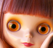 Blythe doll T-shirt:  What Big Eyes You Have! Sticker