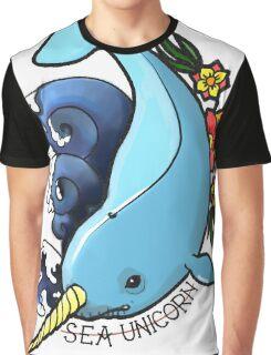 sea unicorn Graphic T-Shirt