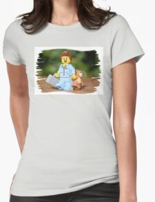 Relaxation  Womens Fitted T-Shirt