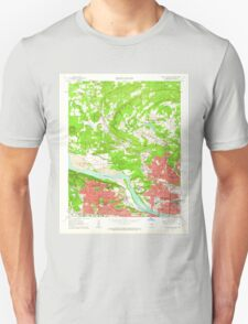 USGS TOPO Map Arkansas AR North Little Rock 259271 1961 24000 Unisex T-Shirt