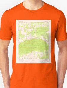 USGS TOPO Map Arkansas AR Danville Mountain 258294 1972 24000 Unisex T-Shirt